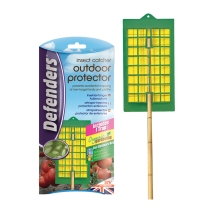 Defenders Insect Catcher Outdoor Protector for greenhouses and gardens to catch aphids, spider mites and flies.