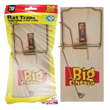 Wooden rat trap from The Big Cheese