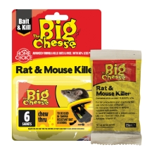 Rat & Mouse Killer² Grain Bait Sachets - 6x25g