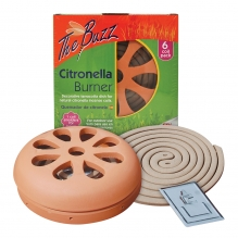 Citronella Burner & 6 Coil Pack