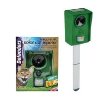 Mega-Sonic® Solar Cat Repeller