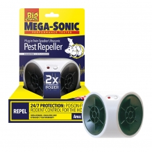 Ultra Power Mega-Sonic® Plug-In Twin-Speaker Ultrasonic Pest Repeller