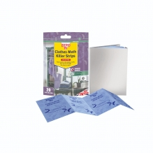 Clothes Moth Killer Strips - 20 Strips