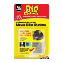 All-Weather Block Bait² Mouse Killer Stations - Twin Pack