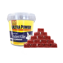 Ultra Power Block Bait² Rodent Killer - 15x20g Blocks