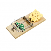 Selfset Wooden Mouse Trap - Twin Pack  FSC® 100% - FSC ® Certificate Registration Code: NC-COC-021679