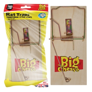 Wooden Rat Trap - 2 Pack