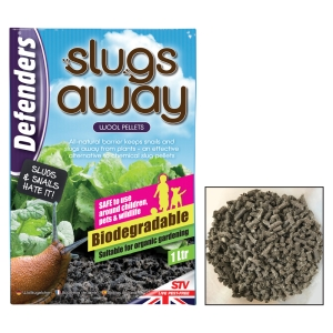 Slugs Away® Wool Pellets - 1Ltr