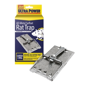 Ultra Power  All-Metal Selfset Rat Trap