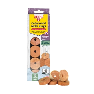 Cedarwood Moth Rings - 10 Pack