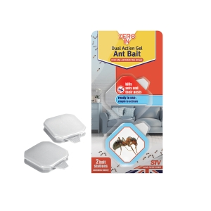 Dual Action Gel Ant Bait Stations - 2-Pack