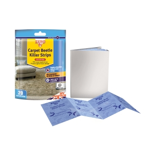 Carpet Beetle & Moth Killer Strips