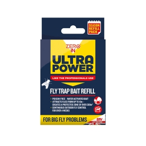 Ultra Power Outdoor Fly Trap Refill Pack - 6x8g
