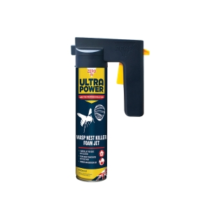 Ultra Power Wasp Nest Killer Foam Jet - 600ml Trigger Aerosol
