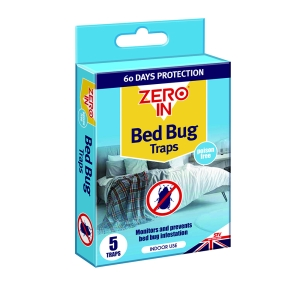 Bed Bug Traps - 5 Pack