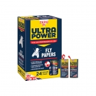 Ultra Power Fly Papers - 24 Pack