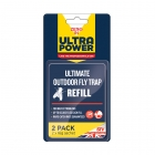 Ultra Power Ultimate Outdoor Fly Trap Bait Refill - Twin Pack